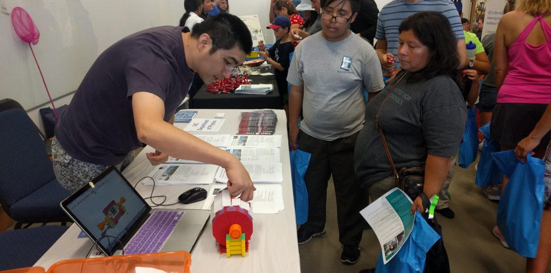 Members of the UIC HEP group participated in Fermilab's open house in September 2017, where they shared our work on CMS with members of the community